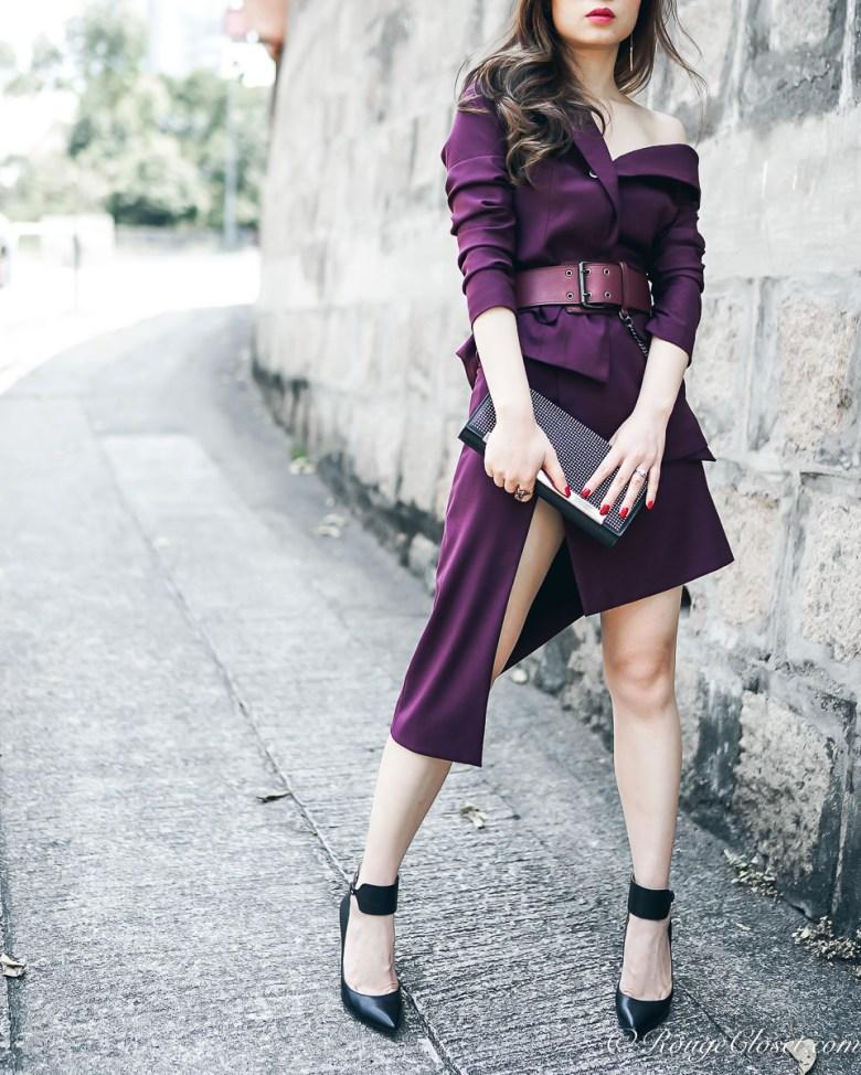 Maya Li SS17 Asymmetric Suit