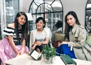 Apple Daily Deluxe E「言」時尚:Girls Talk. Vincci Yang, Eleanor Yeung and Ruby Kwan