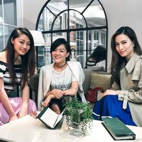 Apple Daily Deluxe E「言」時尚:Girls Talk. Vincci Yang, Eleanor Yeung and Ruby Kwan