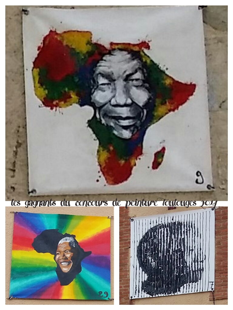 Les 3 gagnants du concours de peinture de Toulouges 2014