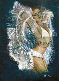 """""""Cristalline"""" : Peinture à l'huile"""