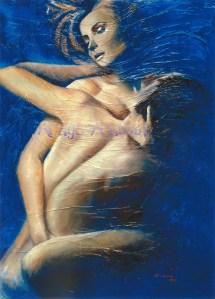 """""""Ivresse Charnelle"""" : Peinture à l'huile"""