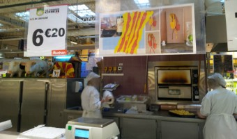 Auchan Perpignan succombe au charme de mes Vigatanes ....