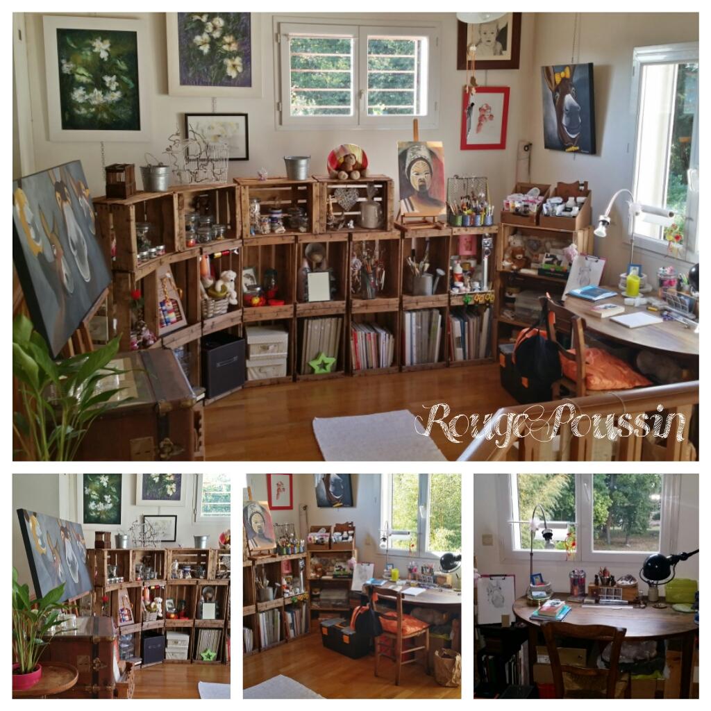 Le nouvel atelier de Rouge Poussin