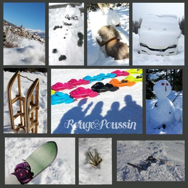 Photos des vacances au ski 2015