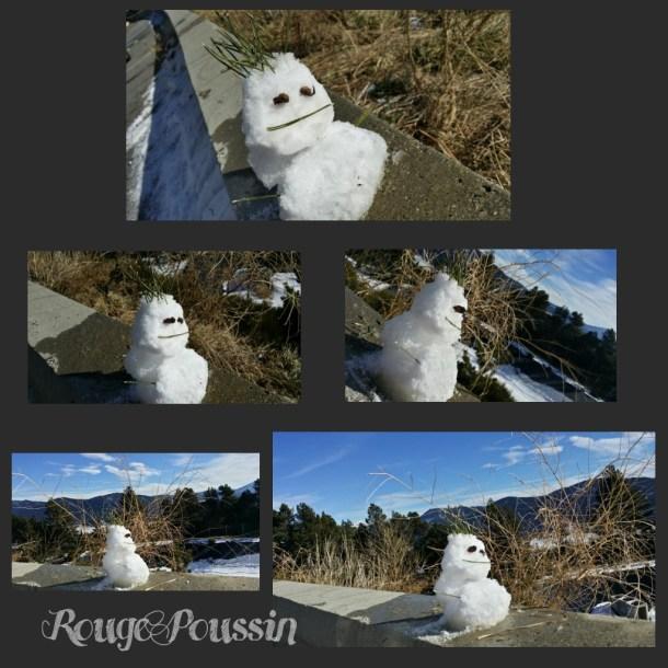 Petit bonhomme de neige aux Angles