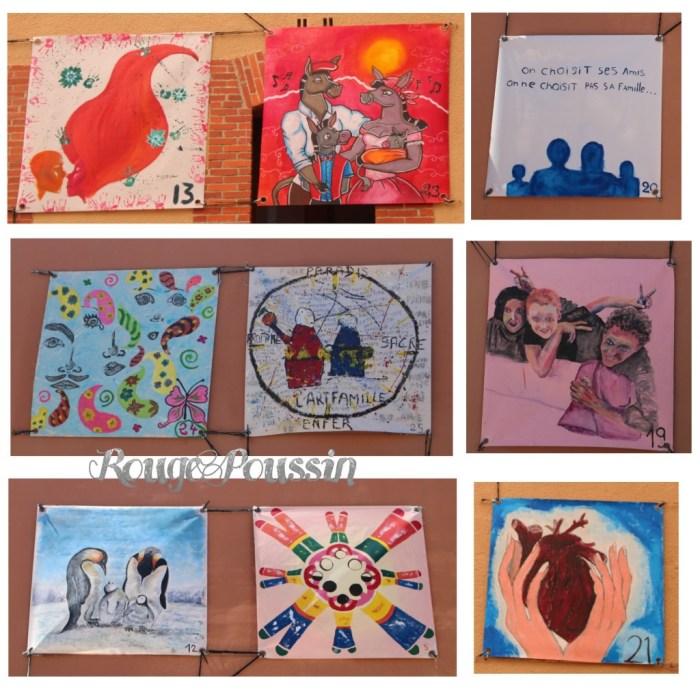Les autres participants au concours de peinture