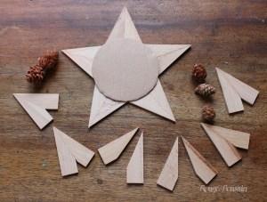 DIY pour réaliser une étoile pour noël