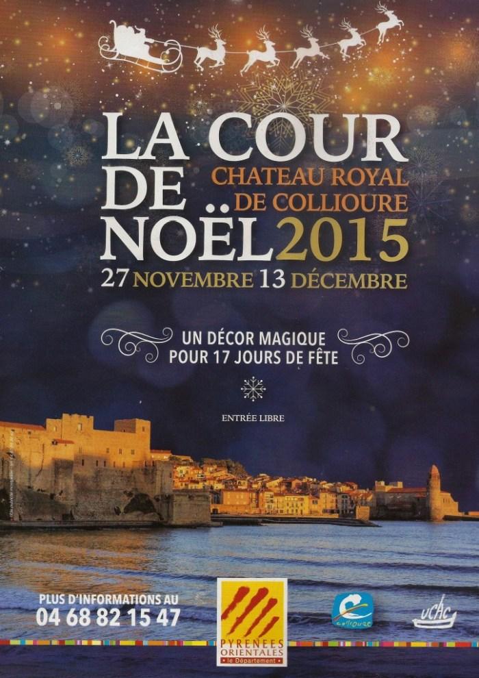 Affiche de la cour de noël 2015