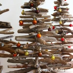 Les sapins de noël en bois flotté de Rouge Poussin