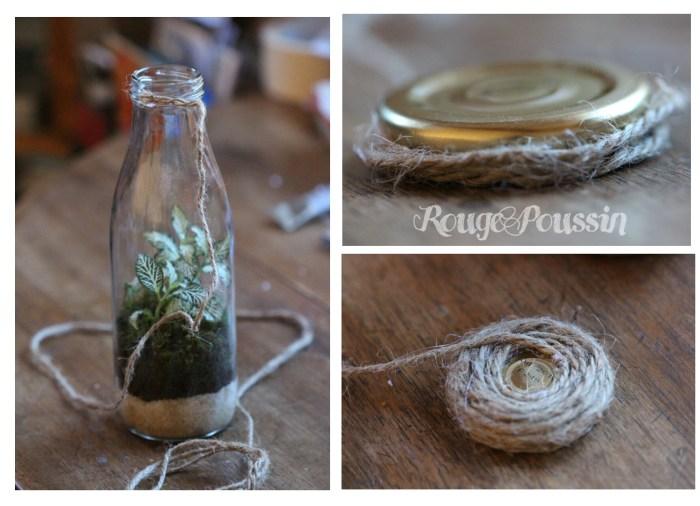 DIY / mini-terrarium / Idée cadeau