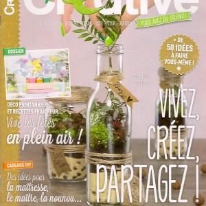 Couverture Créative Magazine