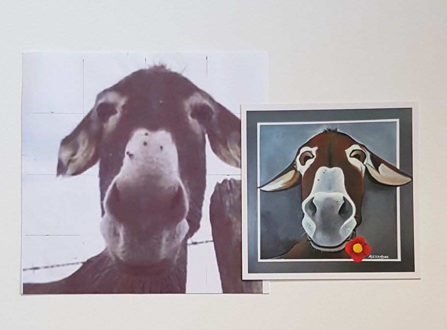 Portrait d'un âne qui existe réellement.