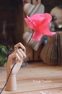 DIY Fleurs en papier crépon