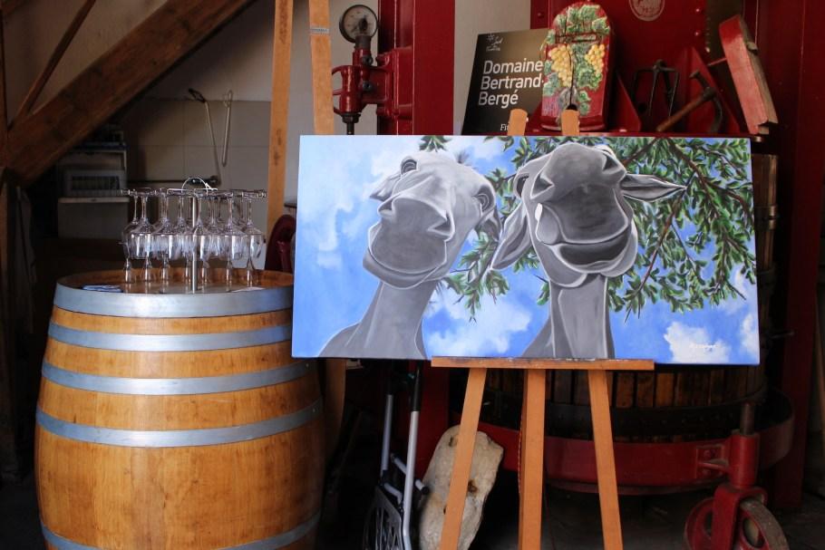 Exposition des tableaux de Carole Alexandre à Paziols
