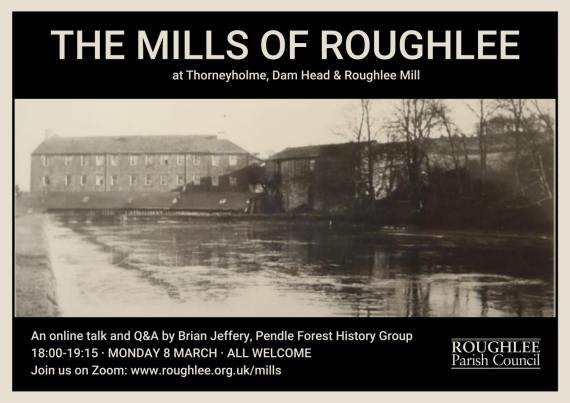 Mills of Roughlee talk