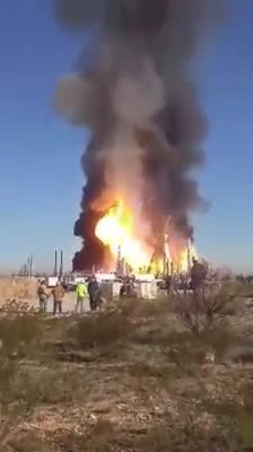 Oilfield Explosions Roughneck City Where Oilfield Lives
