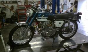 Honda CB 350 Mild-Custom