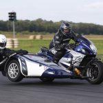 Singe side-car sidecar rallye circuit