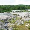 Camping Lévesque, dormir au bruit des vagues.