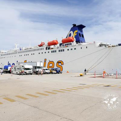 La traversée Mazatlan – La Paz en ferry.
