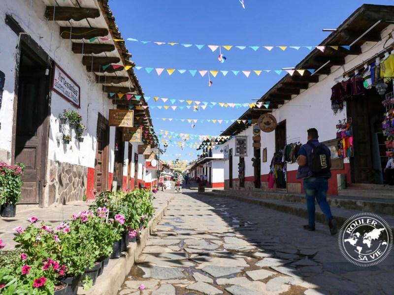 Mazamitla pedestrian street.