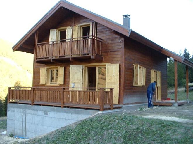 Maison en poteau poutre