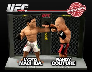 "Lyoto ""The Dragon"" Machida Vs Randy ""The Natural"" Couture UFC  Versus Series 2 UFC 129 WalkOutWear.com Exclusive"