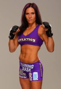 """""""Alpha"""" Cat Zingano Private Signing with MMA Signatures on 1/30/2014"""