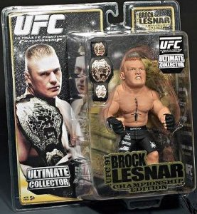 Brock Lesnar Ultimate Collector Series 4 UFC 91 Championship Edition