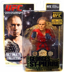 "Georges ""Rush"" St Pierre Ultimate Collector Series 8 UFC 83 Championship Edition"