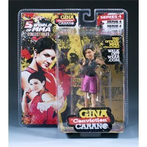 "Gina ""Conviction"" Carano World Of MMA (WOMMA) Champions Series 4 Limited Ediiton"
