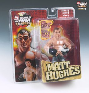 Matt Hughes World Of MMA (WOMMA) Champions Series 1