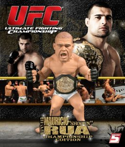 "Mauricio ""Shogun"" Rua UFC 113 Championship Edition Ultimate Collector Series 5  - Square Packaging"