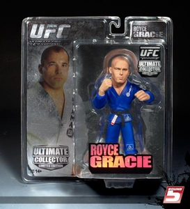Royce Gracie Ultimate Collector Series 4 Limited Edition With Blue Gi