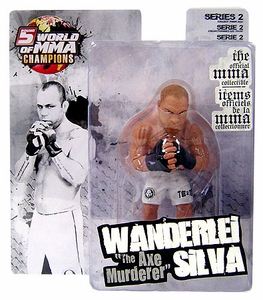 "Wanderlei ""The Axe Murderer"" Silva World Of MMA (WOMMA) Champions Series 2"