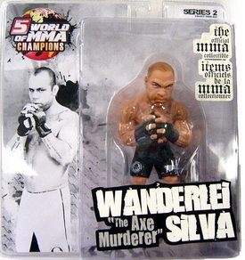 "Wanderlei ""The Axe Murderer"" Silva World Of MMA (WOMMA) Champions Series 2 Limited Edition"