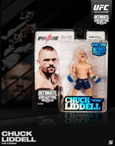"Chuck ""The Iceman"" Liddell Ultimate Collecter Series San Diego Comic Con 2013 Pride Edition"