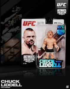 "Chuck ""The Iceman"" Liddell Ultimate Collecter Series San Diego Comic Con 2013 UFC Edition"