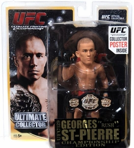 "Georges ""Rush"" St Pierre Ultimate Collector Series 11 UFC 129 Championship Edition"
