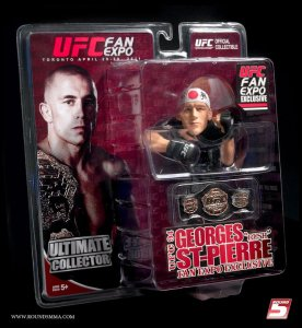 "Georges ""Rush"" St Pierre Ultimate Collector Series UFC Fan Expo 2011 Toronto"
