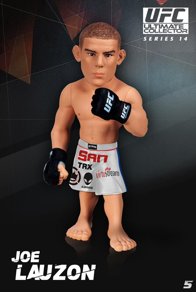 FIGURE GLOVER TEIXEIRA ROUND 5 UFC ULTIMATE COLLECTORS SERIES 14.5 LIMITED ED