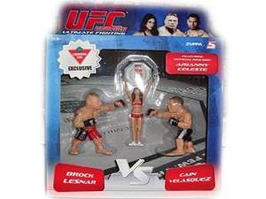 Brock Lesnar Vs Cain Velasquez With Arianny Celeste UFC Versus Canadian Tire Exclusive 3-Pack