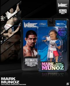 "Mark ""The Filipino Wrecking Machine"" Munoz Ultimate Collector Series 11 Limited Edition"