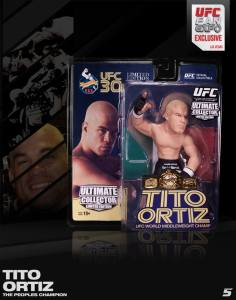 "Tito ""The Huntington Beach Bad Boy"" Ortiz Ultimate Collector Series UFC Fan Expo 2013 Mexican Flag Edition"