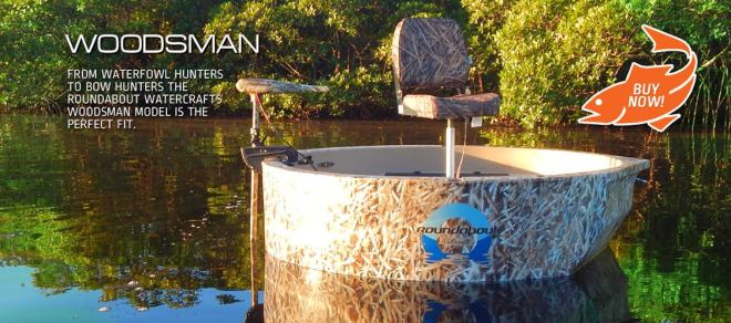The Woodsman - Hunting One Man Boat