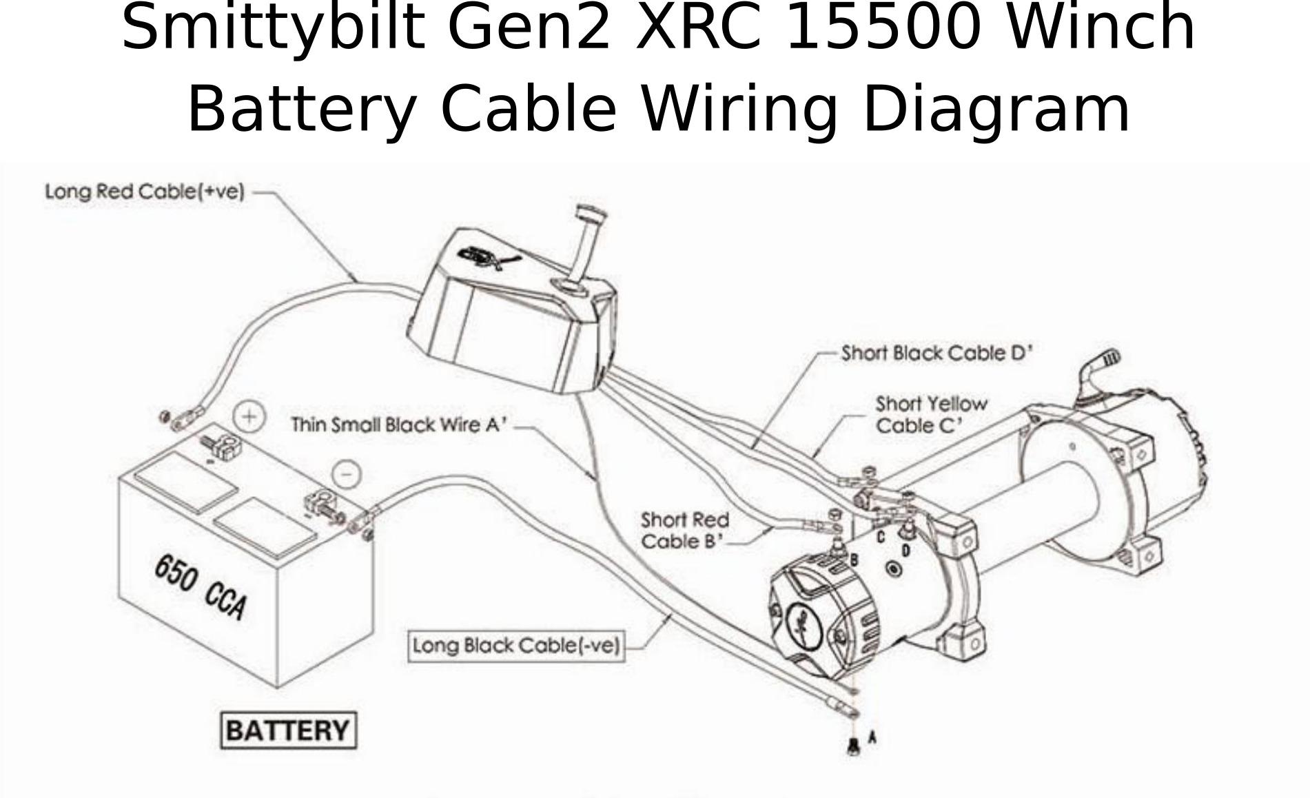 Complete Specs Smittybilt Gen2 Xrc Winch