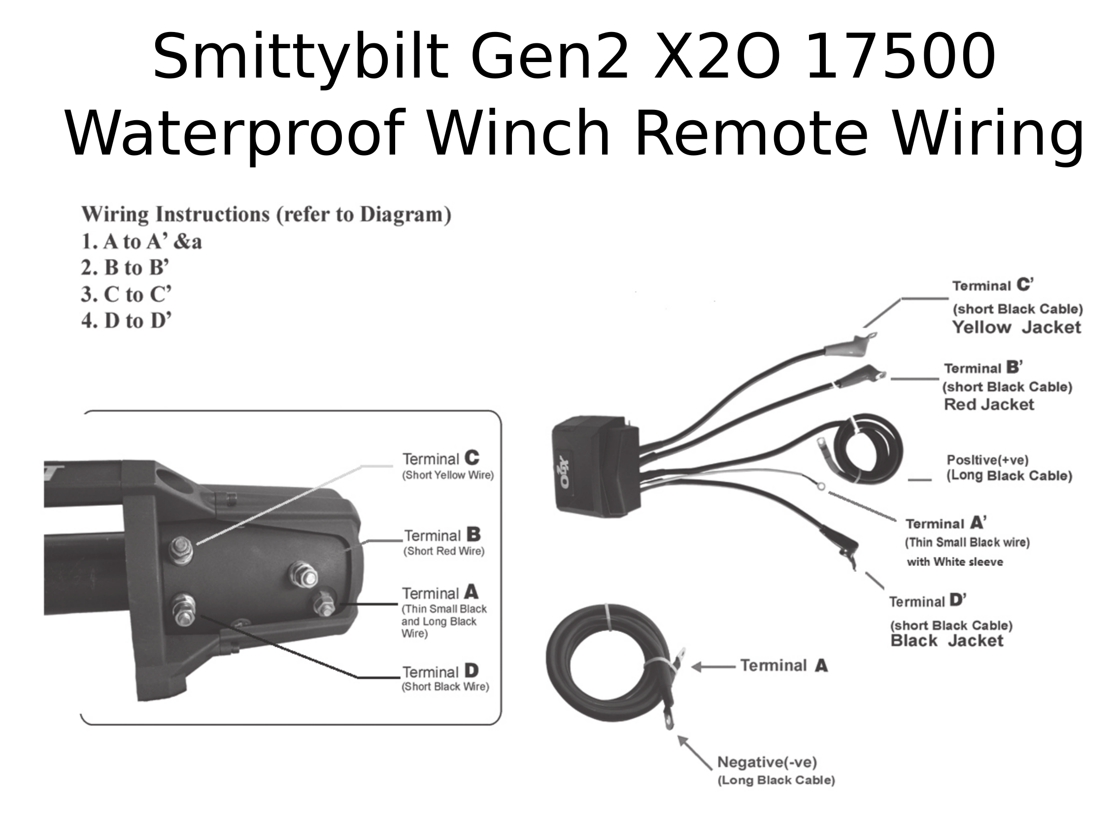 Smittybilt Gen2 X2o Waterproof Winch
