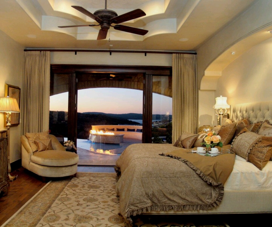 50 Romantic Bedroom Designs for Couples 2020 - Round Pulse