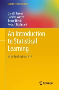 Text Book - An Introduction to Statistical Learning
